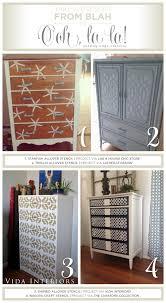 stenciling furniture ideas. cutting edge stencils shares painted and stenciled furniture ideas httpwww stenciling n