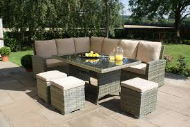corner dining furniture. maze rattan tuscany kingston corner dining set furniture