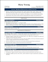 Amazing Mba Hr Resume Format Free Download Photos Entry Level
