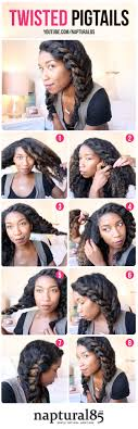 Easy Hairstyles On The Go An Edgy Curly Wash And Go Hairstyle Perfect For Any Occasion This