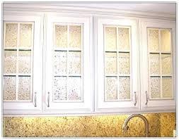 cabinet glass inserts kitchen door etched