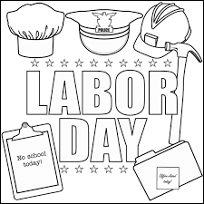 Small Picture Labor Day Coloring Pages