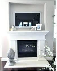 tv over fireplace ideas entertainment center over fireplace