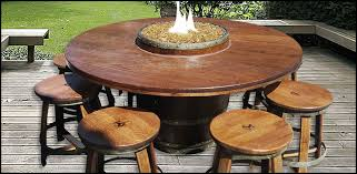 wine barrell furniture. Simple Barrell Outdoor Wine Barrel Table Imposing Designs Home Ideas 1 For Barrell Furniture