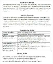Formatted Resume Awesome Word Formatted Resume Simple Resume Format In Word Format Word