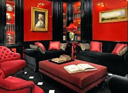 red sofa living room decorating ideas