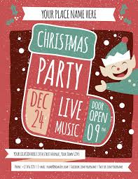 christmas party flyer template by meenjah graphicriver christmas party flyer template holidays events image preview set christmas a4 jpg