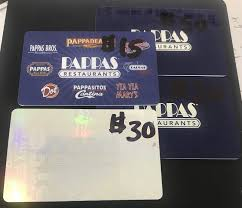 pappas restaurants gift cards 115 total pappadeaux pappasitos more 1 of 1 see more