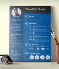 Infographic Resume Template Download Free Graphic Resume Templates