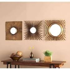 3 piece wall mirror set small decorative wall mirror sets mirrors lovely decor top 3 piece