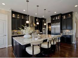 black stained kitchen cabinets throughout most popular cabinet paint new colors decor top good kitchens with