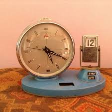 very special vintage alarm clock collector s item for years set time and date alarm clock running