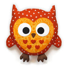 Owl Pillow Pattern Zumba The Monster Pattern Big Plush Monster Stuffed Toy Sewing
