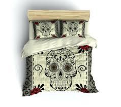 full size of sugar skull duvet cover queen details sugar skull duvet cover skull double duvet