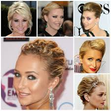 Updo Hairstyles For Short Bobs