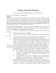 Robert Rules Of Order Minutes Template Expin Franklinfire Co