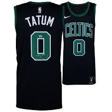 Authentic boston celtics jerseys are at the official online store of the national basketball association. Autographed Boston Celtics Jayson Tatum Fanatics Authentic Nike Black Swingman Jersey