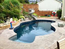 gunite pool cost. How Much Does A Gunite Pool Cost Home Swimming Astounding Average Of Saltwater .