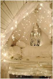 Light Decorations For Bedroom Decorations White Attic Bedroom With Christmas Decoration