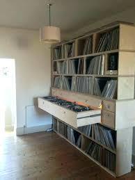 record shelf vinyl storage shelves ikea