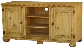 rustic pine tv stand. Delighful Stand Roma Mexican Rustic Pine TV Stand WLegs U0026 Rope Edge On Tv W