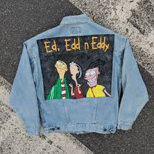 Here are top selected products for jackets. Vintage Levi S Custom Hand Painted Ed Edd N Eddy Depop