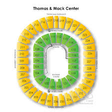 Thomas And Mack Center Seating Chart Unlv Basketball Seating Chart 2018 Related Keywords