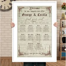 Seating Chart Wedding Sign Disney Wedding Seating Chart Sign Sit Back And Relax