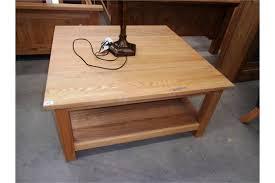 shelf square coffee table 100 x 100cm