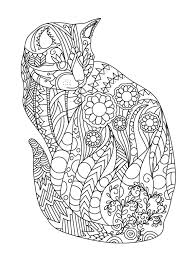 Cat Colorish Coloring Book For Adults