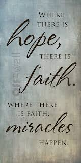 Christian Quotes On Hope And Faith Best of HopeFaithMiracles Bible Quotes Pinterest Inspirational