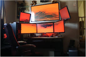 home office setups. Amazing 13 Eye Popping Home Office Setups Computer Room Setup