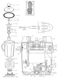 waring cb 6 parts list and diagram ereplacementparts com on simple blender wiring diagram