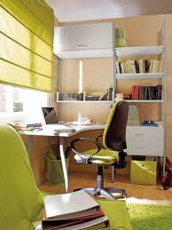 office storage solutions ideas contemorary. Perfect Office Charming And Thoughtful Home Office Storage Ideas  Vibrant Bright Color  Contemporary Space Design On Solutions Contemorary N