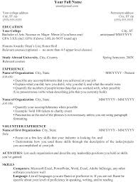 Resume Example For Teenager resume Resume Sample For High School Students 37