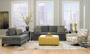 Living Room With Grey Sofa Living Room Dark Grey Sofas With Grey Wall Paint Decorating Also