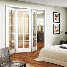 Trifold Interior Sliding French Doors In Bedroom