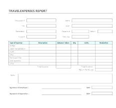 Expense Reimbursement Form Templates Expense Reimbursement Template Agarvain Org