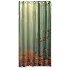 custom fabric shower curtains dim frog forest besting new style custom fabric shower curtain custom made