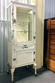 vintage pharmacy cabinet amazing vintage medical dental pharmacy cabinet w 3 glass shelves beautiful legs casters vintage pharmacy cabinet