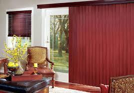 sliding door vertical blinds. Crosswinds Wood Vertical Blinds Sliding Door