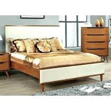 mid century modern king bed. Mid Century Modern King Bed Furniture Of Ii Upholstered Size Platform Beds With Built In Side .