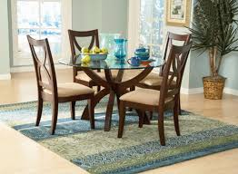 round glass top dining table regarding small glass top dining tables