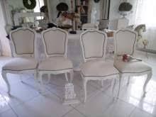 Sedie Schienale Alto Bianche : Shabby chic sedie arredamento mobili e accessori per la casa