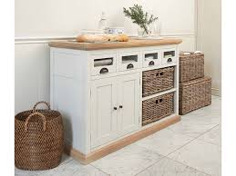 stand kitchen dsc: free  creative design of freestanding white paint wooden small kitchen sink cabinet ideas with honey maple wood combination and the fitted open storage to rattan basket shelves area