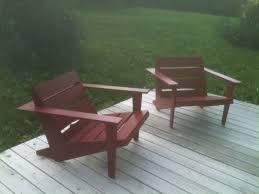 custom made modern adirondack chairs