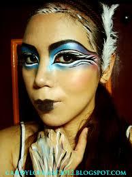 my avant garde bird makeup tutorial