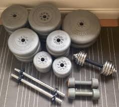 york weight plates. 80kg rubberized york weight plates + dumbbells (free delivery)