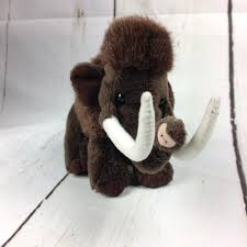 wild republic lil cuddlekins brown woolly mammoth plush prehistoric small