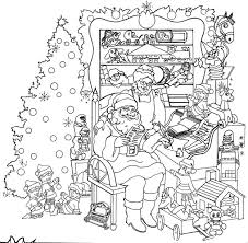 Scenery Coloring Pages For Christmas Christmas Coloring Pages